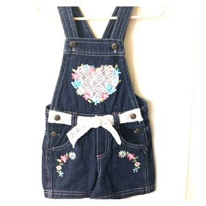 2T jeans overalls